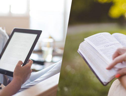 Nên đọc sách online, ebook hay sách giấy?