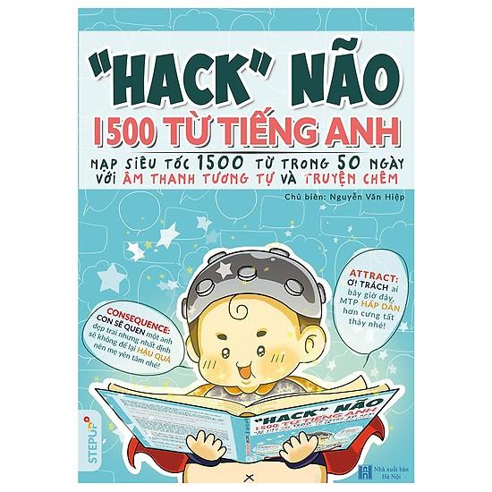 List Sách hack não 1500 từ tiếng anh nên đọc