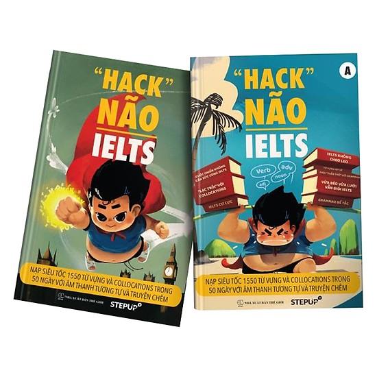 Tự học tiếng anh với sách hack não IELTS