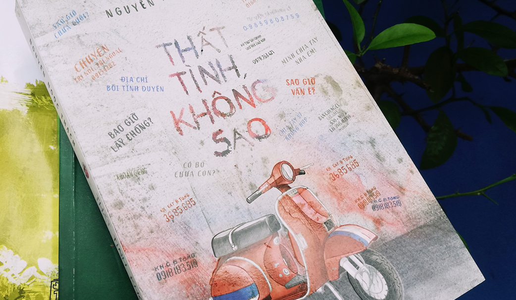 Review sách hay Thất tình không sao - Nguyễn Ngọc Thạch
