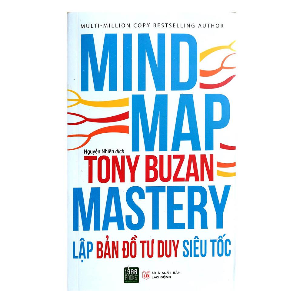 Sách hay về ghi nhớ - Lập bản đồ tư duy siêu tốc - Tony Buzan