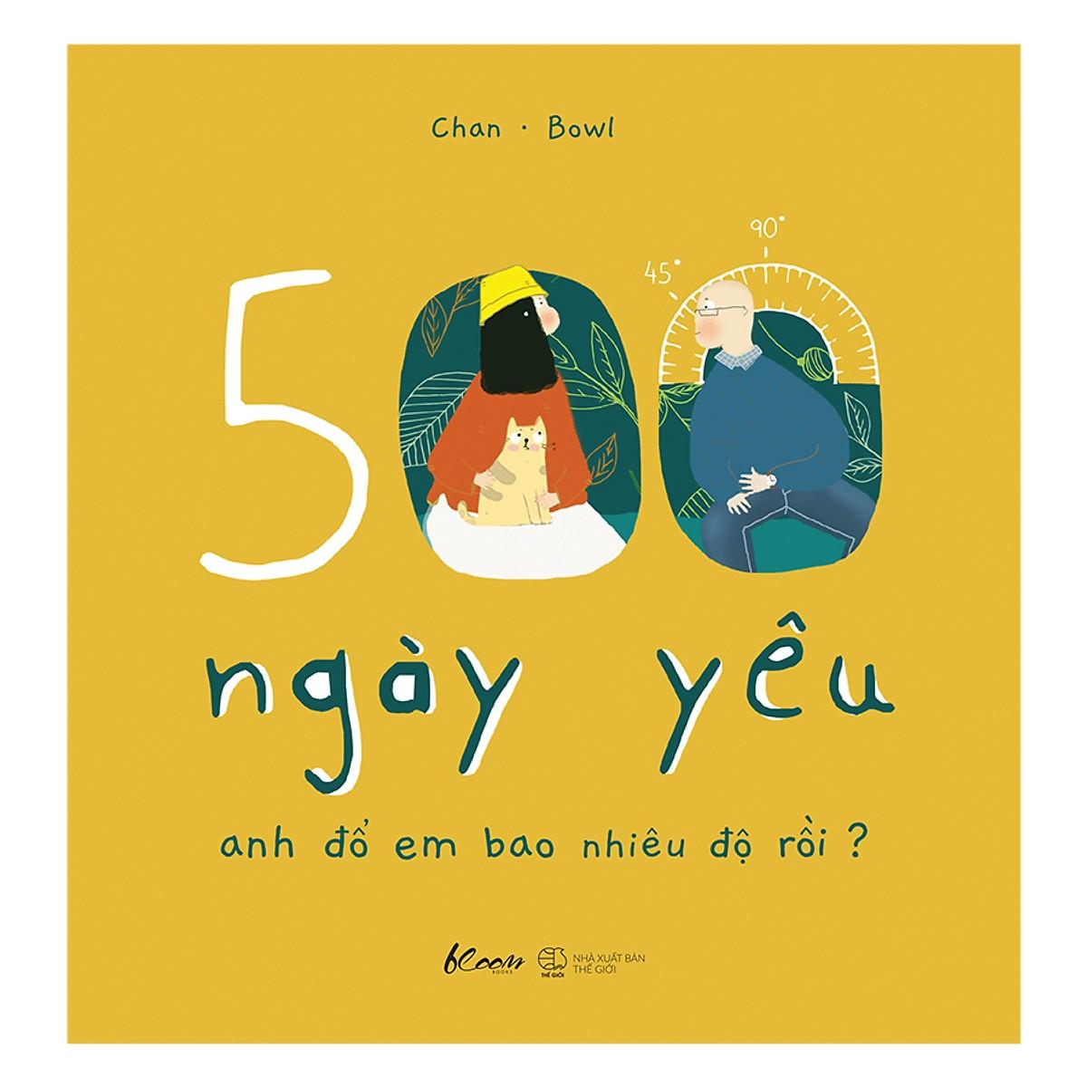 Top sách hay ý nghĩa tặng người yêu - 500 ngày yêu