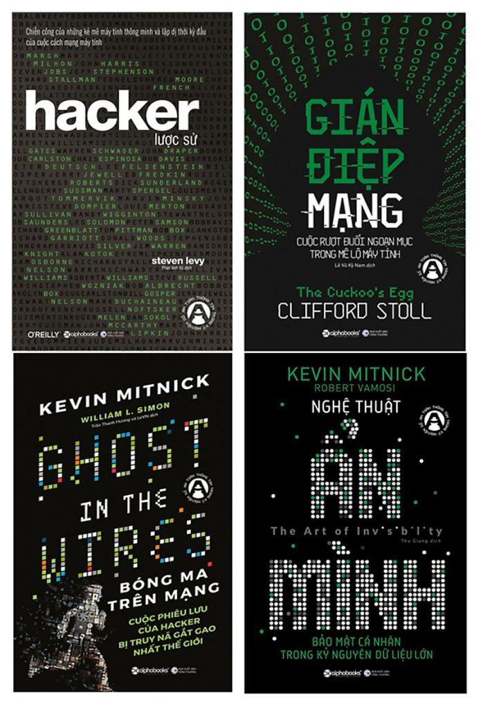 Bộ sách về hacker - an toàn thông tin mạng