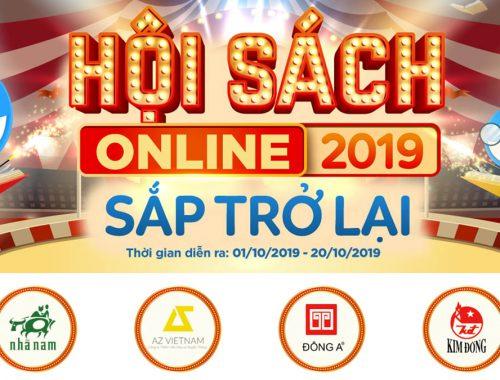Hội sách online đỉnh nhất Tiki 2019