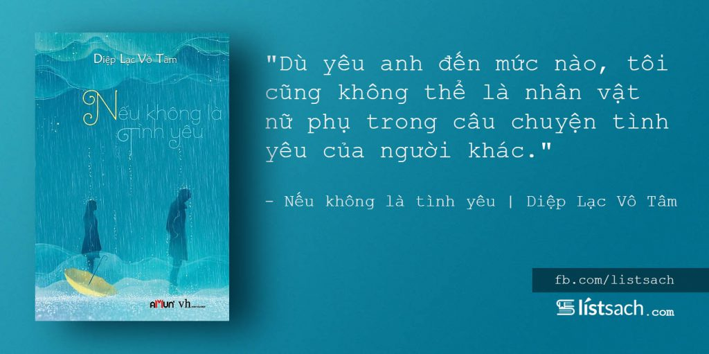 Câu nói hay về tình yêu - trích dẫn sách Nếu không là tình yêu