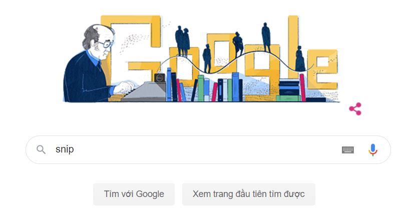 Google kỷ niêm 100 năm ngày sinh của Jaan Kross