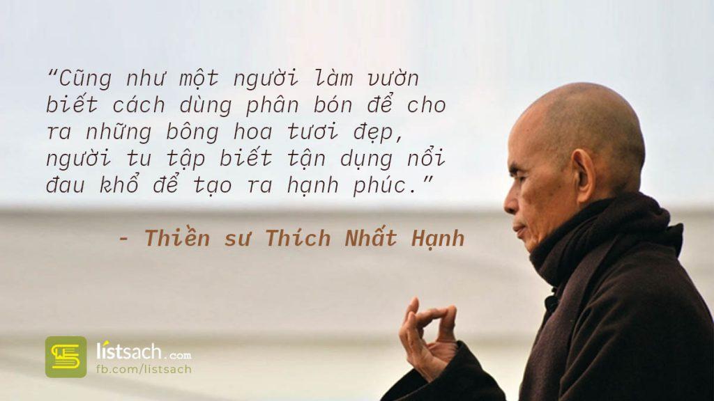 Những câu nói hay của thiền sư Thích Nhất Hạnh