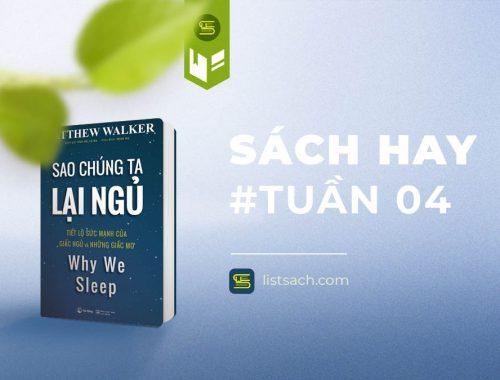 Sách hay tuần 04: Sao chúng ta lại ngủ - review sách