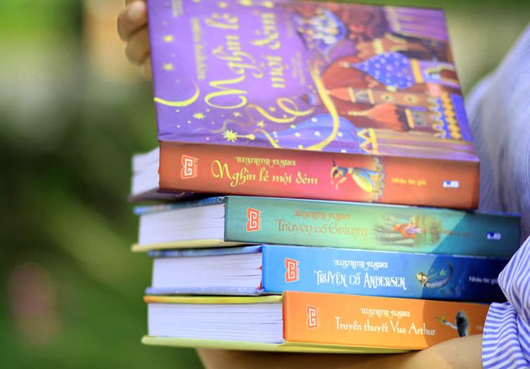 Sách thiếu nhi bán chạy nhất - quà tặng 1/6 cho bé