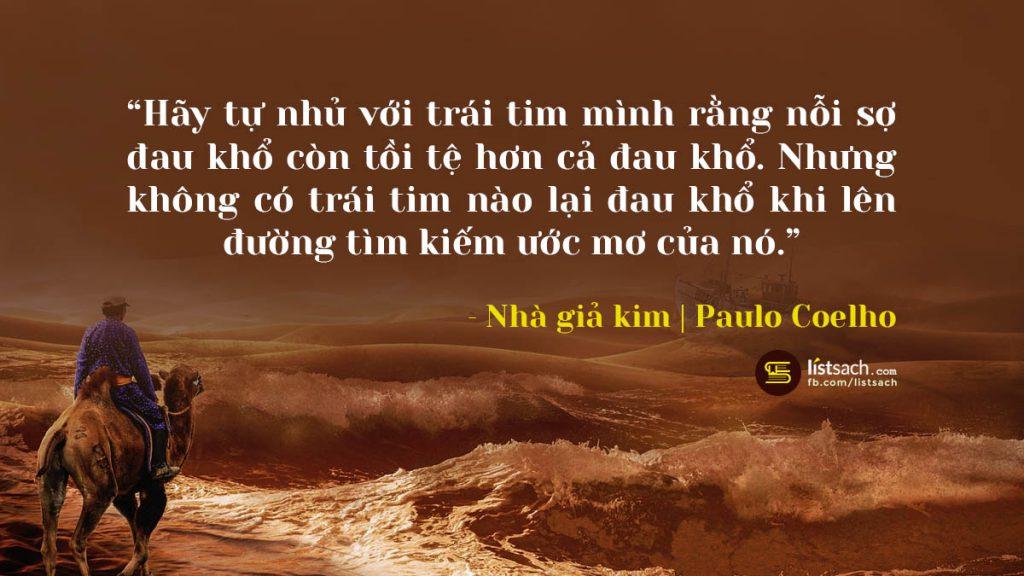 Những câu nói hay nhất trong sách nhà giả kim - Paulo coelho