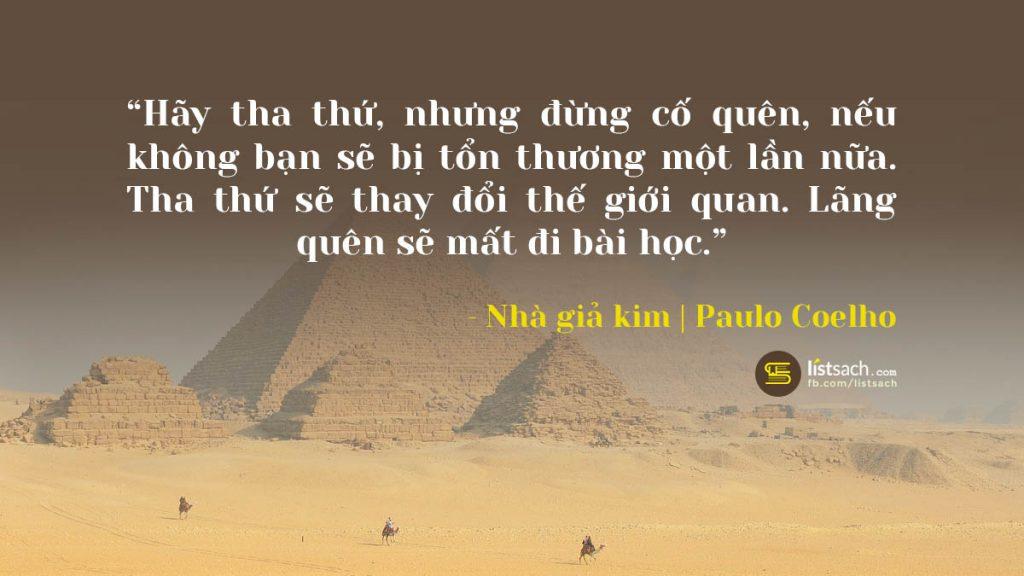 Top câu nói hay nhất của nhà giả kim - Paulo Coelho