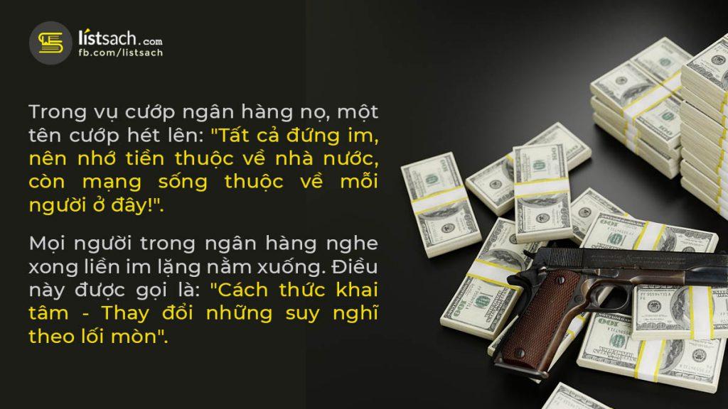 Bài học cuộc sống hay từ vụ cướp ngân hàng