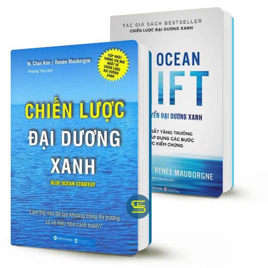 Combo Chiến lược đại dương xanh - sách hay về khởi nghiệp