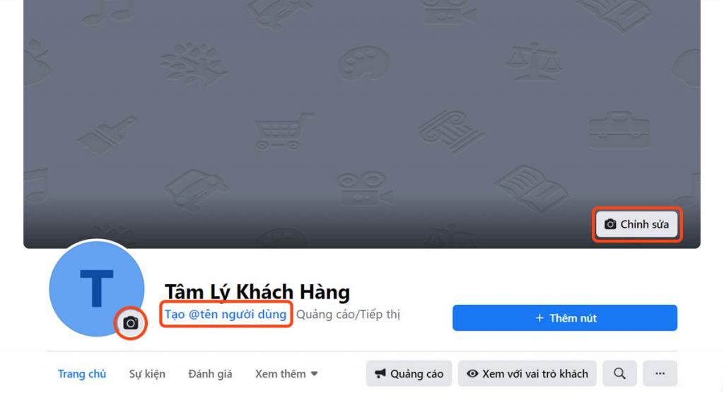 Cập nhật avatar, ảnh bìa cho trang Facebook
