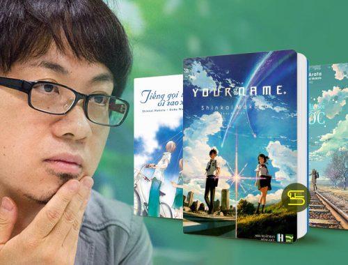 Shinkai Makoto - Top sách hay và tác phẩm nổi bật - List Sách