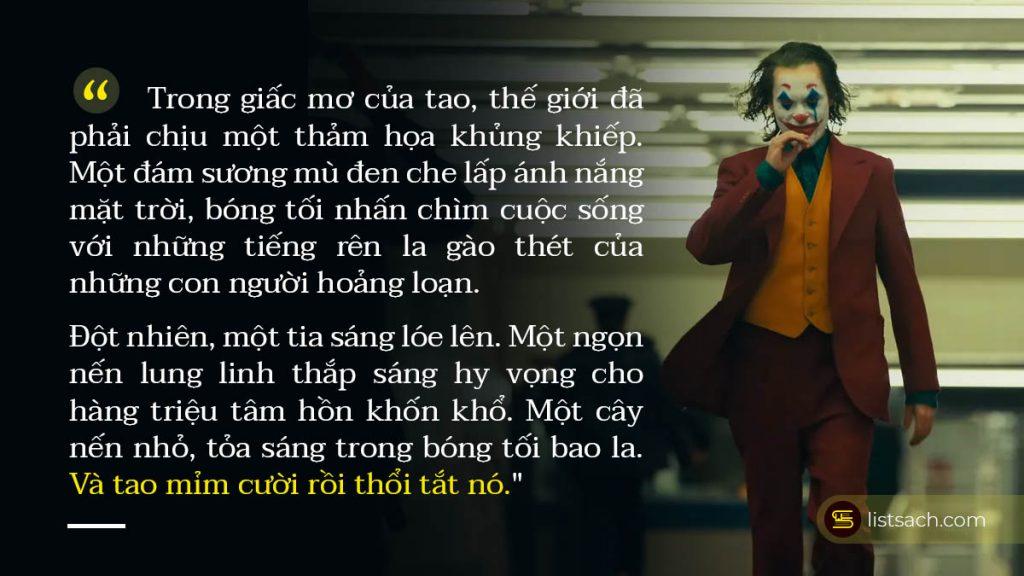 Sự vô tình và ác độc chính là vũ khí của Joker