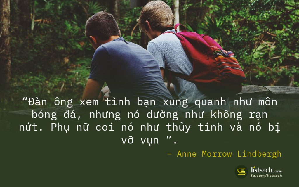 Quotes hay về tình bạn - sự khác biệt về tình bạn giữa đàn ông và phụ nữ