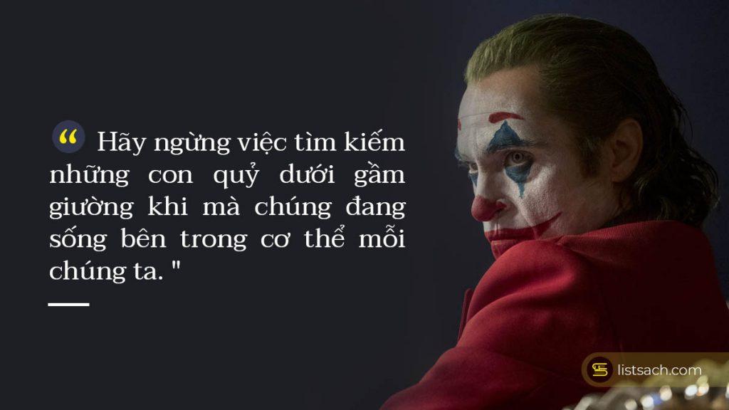 Câu nói hay và ý nghĩa của Joker