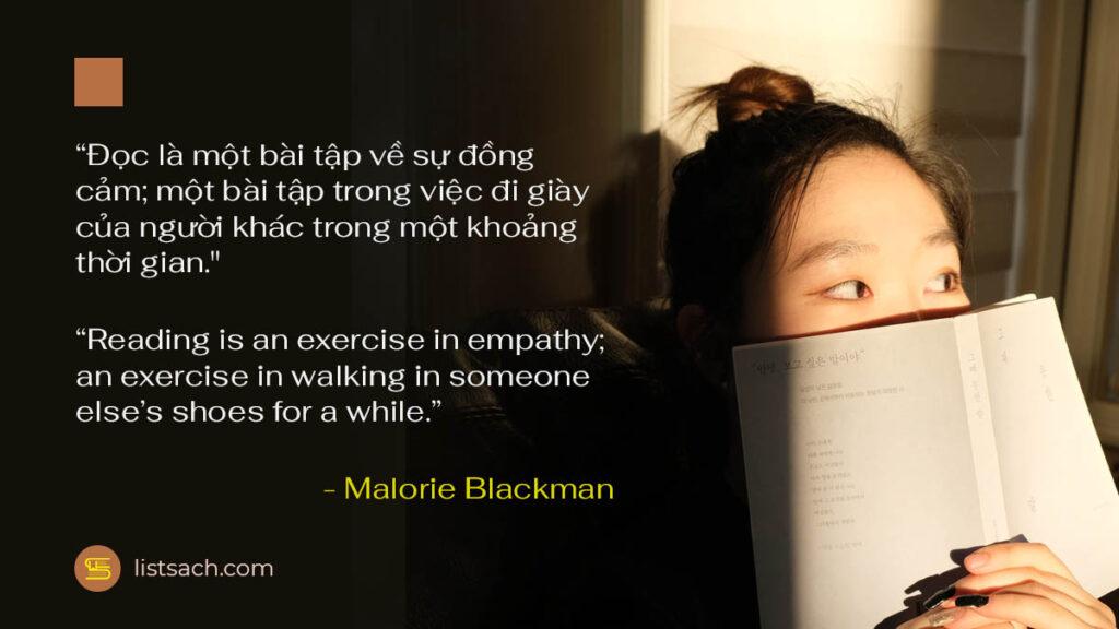 Câu nói hay về sách - Đọc sách giúp đồng cảm hơn