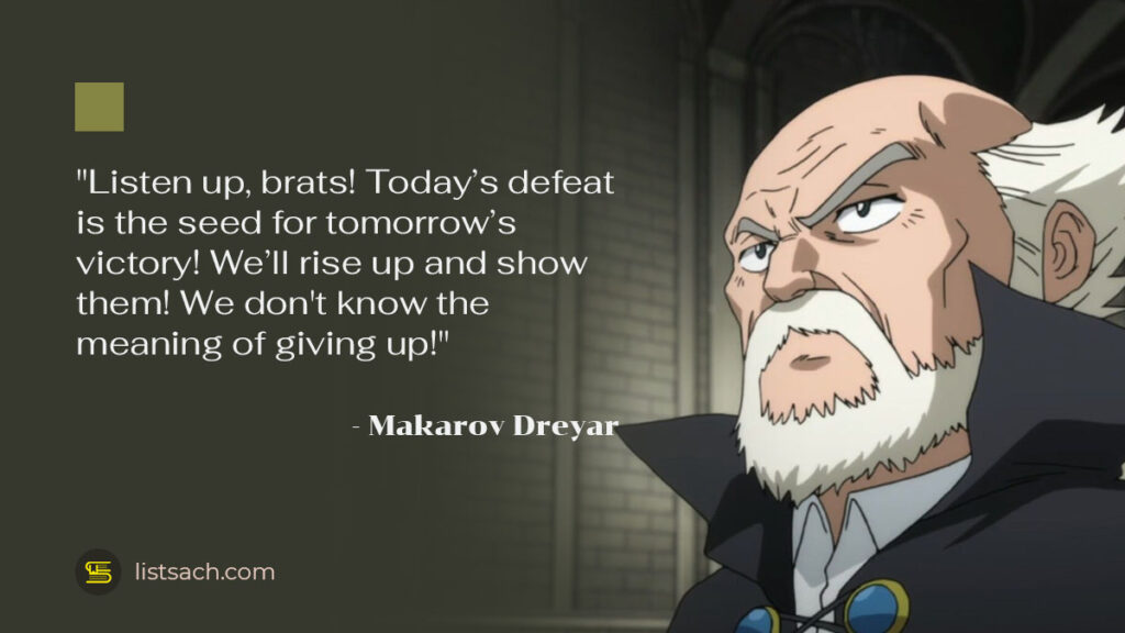 Fairy Tail Quotes - Best Anime Quotes from Makarov