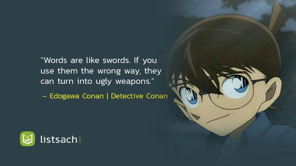 Detective Conan Quotes - Anime quotes about life