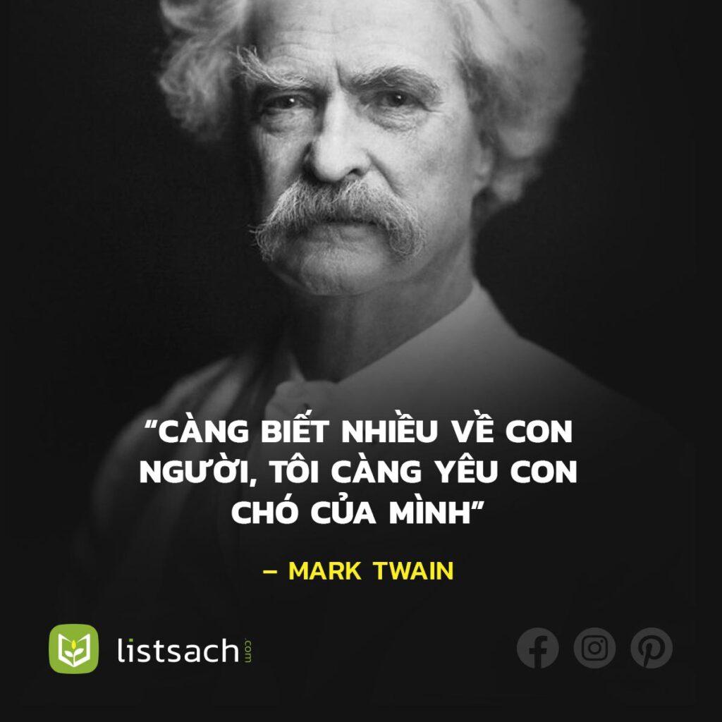 Câu nói hài hước của Mark Twain